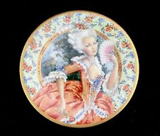 Pickard Oleg Cassini Marie Antoinette Beautiful Women Time Collector Plate