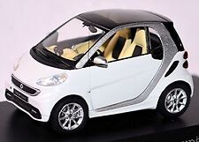 Smart Fortwo Coupe C 451 - 2010-12 weiß white 1:43 Spark