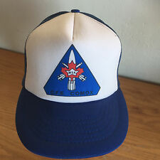 WSA   CFB Comex Baseball Cap Hat  Royal & White    Mesh Back  New