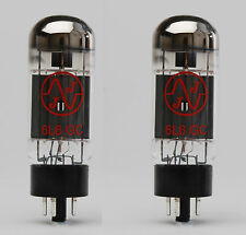 6L6GC Matched Pair Power Valves For Guitar Amlifiers