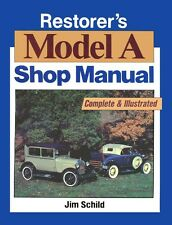 1928 1929 1930 1931 Ford Model A Restorers Shop Service Repair Manual Book Guide