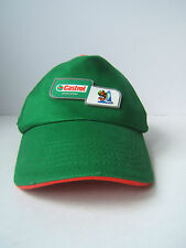 Green Castrol Motor Oil Fifa 2010 South Africa Official Sponsor Hat Cap Football