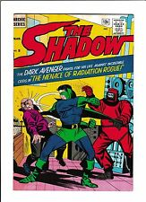 "THE SHADOW #5  [1965 GD-VG]  ""THE MENACE OF RADIATION ROGUE!"""