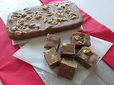 1 Pound Dutch MILK CHOCOLATE WALNUT Homemade FUDGE Dutch Treats One LB Candy