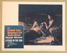 A PLACE IN THE SUN Lobby Card #5 MONTGOMERY CLIFT Elizabeth Taylor