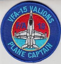 VFA-15 PLANE CAPTAIN SHOULDER PATCH