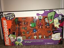 Palisades Toys Invader Zim Special Edition Figure Set Of Doom Rare Mint