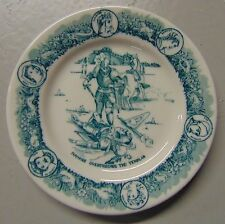 Ivanhoe Restaurant China Plate Albert Pick Chicago McNicol China Templar Green