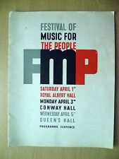 Festival of Music For The People London 1939-Royal Albert,Conway & Queen's Hall