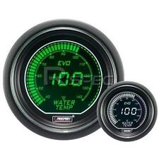 Prosport 52mm EVO Car Water Temp Gauge Green and White LCD Digital Display