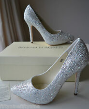NEW BENJAMIN ADAMS SYLVIA CRYSTAL Shoes UK 6 / 39   BOX  £299