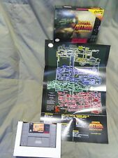 Super Metroid Redesign for SNES. Comes with box and full color map!