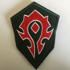 World of Warcraft WOW Horde Desert Insignia Medal Badge Tactical Morale Patch