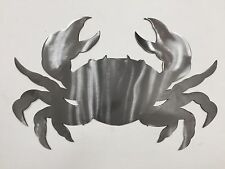Crab Ocean Metal Wall Art Nautical Marine Sea Life Beach House Home Decor