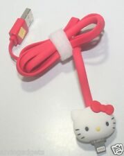 Hello Kitty 8 Pin USB Charge Sync Lightning Cable For iPhone 5 iPad 4 Mini AIR