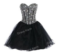 Semi Teens Short BEADED Cocktail Party Homecoming Formal Bridesmaid Prom Dresses