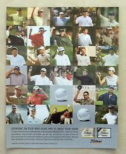 B638-Advertising Pubblicità-2004 -TITLIEST 1 BALL IN GOLF