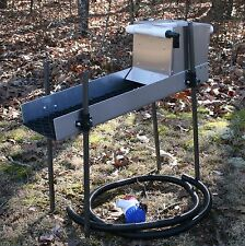 GOLD Highbanker 12V 1100GPH Pump Stand Hopper Sluice Gold Panning Goldrush