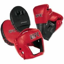 MMA Training Set Youth Bag Gloves Headgear Punch Mitts Boxing Workout Equipment