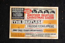 Beatles Tour Poster 1962 Odeon #2 Freddie & the Dreamers