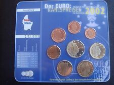Luxembourg 2002 Full coin set UNC 1 CENT - TO 2 EURO FROM MINT ROLLS