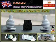NEW MICKEY IN CAR DASH HOLDER STAND ANY SIZE SMART PHONE/PAD/GPS