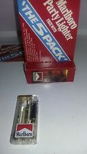 Marlboro Lighter lighted New In Original Package Vintage RARE RECALLED 1992 **