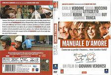 MANUALE D'AMORE (2005) dvd ex noleggio