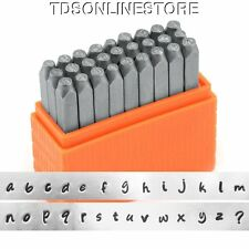 Basic Bridgette Lower Case Letter Metal Stamp Set 3mm