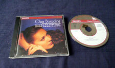CD Olga Borodina Tchaikovsky Romances in Russian Mezzo-Soprano Piano PHILIPS