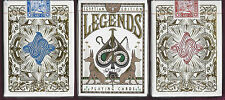 3 DECKS Legends Egyptian Edition (3 colors) playing cards