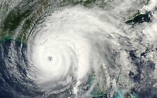 Framed Print-Hurricane Taken From The International Space Station (NASA Picture)