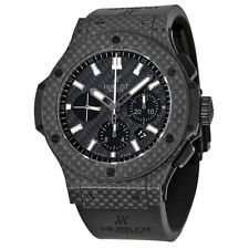 Hublot Big Bang Black Carbon Fiber Dial Automatic Chronograph Mens Watch