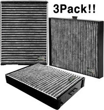 Charcoal cabin air filter for IX35 Sportage Serato GenesisCoupe verna 3Pack!!