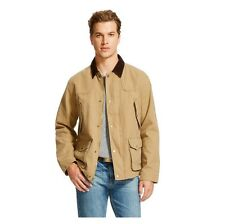 MOSSIMO SUPPLY CO Men's Canvas Work Jacket Coat LARGE - TAN