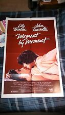 MOMENT BY MOMENT One Sheet movie poster memorabilia 1978 John Travolta Lily Toml