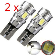 2pcs Mini T10 5630 6SMD W5W LED HID Interior Canbus Error Car Side Wedge Light
