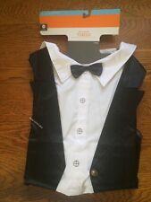 Pet Dog Tuxedo Tux Costume Halloween Wedding Large Up To 90 Lb NWT