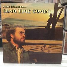NM LP~MIKE ROBBINS~Long Time Comin'~[Original 1977 AVI Issue]~