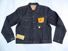 RALPH LAUREN RRL Rigid Sanforized Japanese Selvedge Denim Trucker Jacket XL (NWT