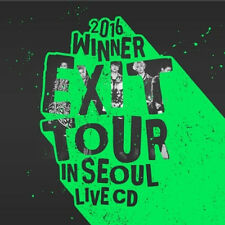 WINNER-[2016 WINNER EXIT TOUR IN SEOUL LIVE] 2CD+2p POSTER+52p Photobook+1p Card