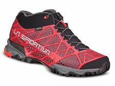 La Sportiva Men Synthesis Mid GTX Trail Running Hiking Shoe (41) Red
