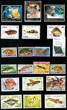Tous pays  POISSONS ,SEA-FISH  d'aquarium et des fonds marins   28m278A