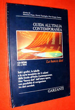 "GUIDA ALL'ITALIA CONTEMPORANEA - CD-ROM  PC e MAC "" BANCA DATI - GARZANTI 1998"