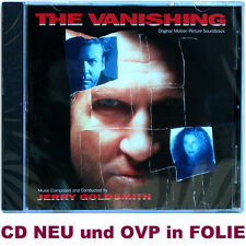 The Vanishing - Jerry Goldsmith - Soundtrack CD NEU und OVP in FOLIE