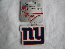 RARE NY NEW YORK GIANTS FOOTBALL LOGO ORNAMENT CHRISTMAS TREE HOLIDAY GIFT
