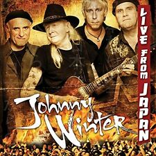 JOHNNY WINTER - LIVE FROM JAPAN  CD  14 TRACKS  NEU