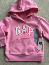 NEW NWT Girls Clothes Baby GAP Pink Sweat Shirt Hoodie Size 6 12 Months $25 DEAL