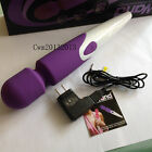 Silicone 10 speed USB Rechargeable Wireless Waterproof Magic Wand Massager New
