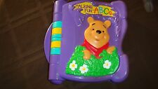 Disney Pooh Talking Fun ABC's Book by Mattel Letters, Sounds Music